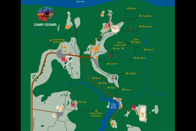 Camp Cedars Map.eps